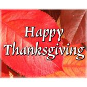 Gift Card: Happy Thanksgiving