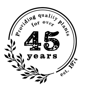 Providing quality plants for over 45 years